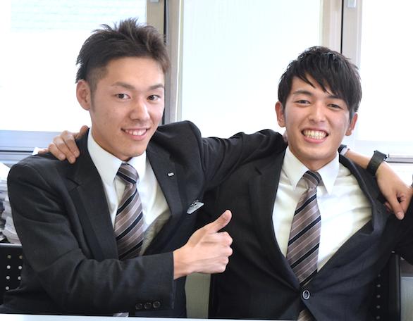 国際自動車(㎞タクシー)のイケメンタクシードライバー小野さんと石垣さんのツーショット