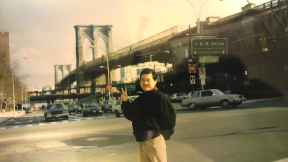 国際自動車(㎞タクシー)の英語が話せるタクシードライバー平木さんのニューヨーク時代