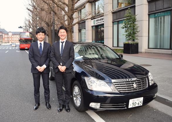国際ハイヤー株式会社のイケメンハイヤードライバーの斉藤さんとハイヤー