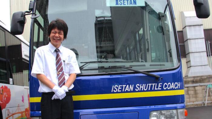 国際自動車のシャトルバスドライバー中村さん
