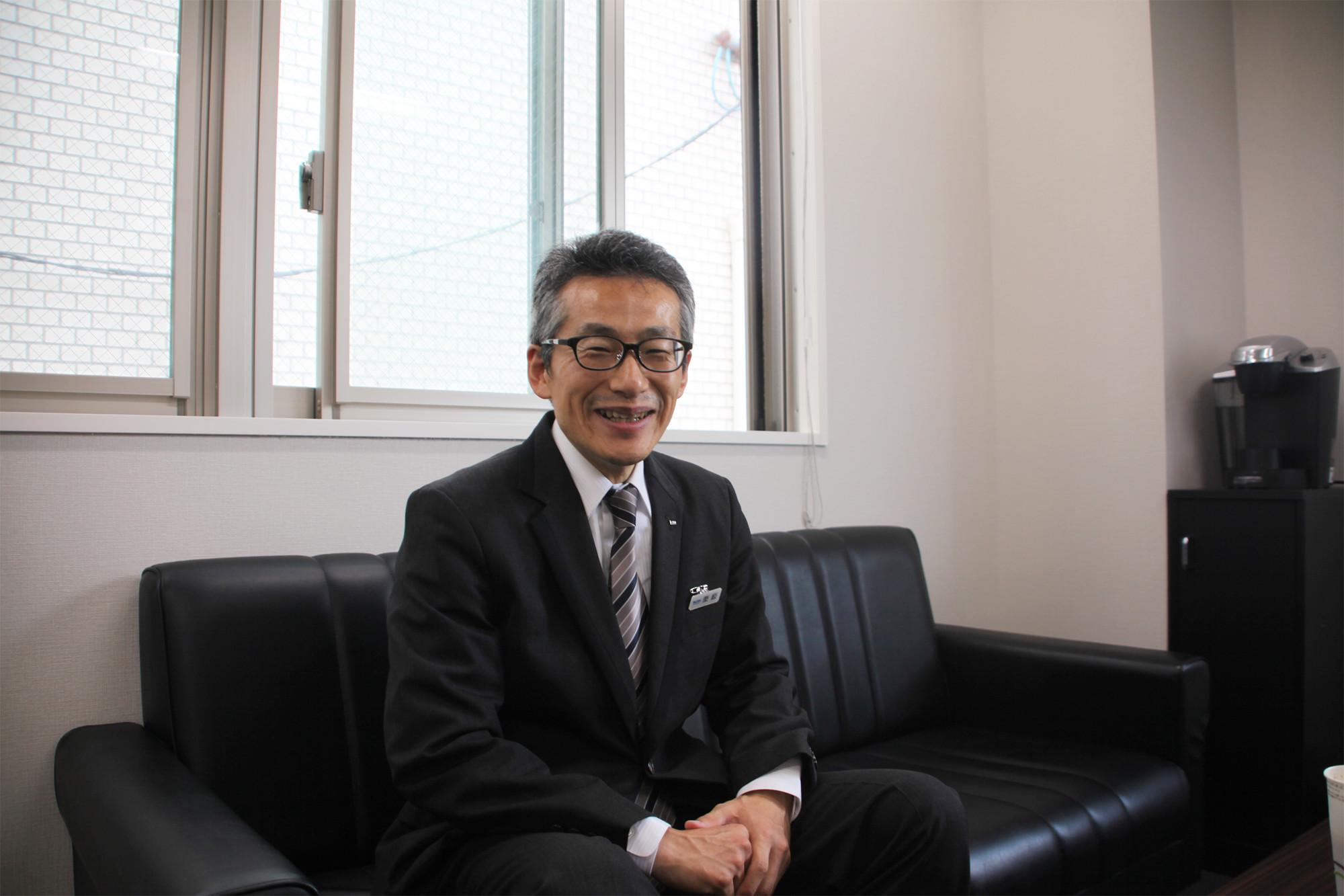 50代で転職した国際自動車(㎞タクシー)のタクシードライバー栗原さんの写真