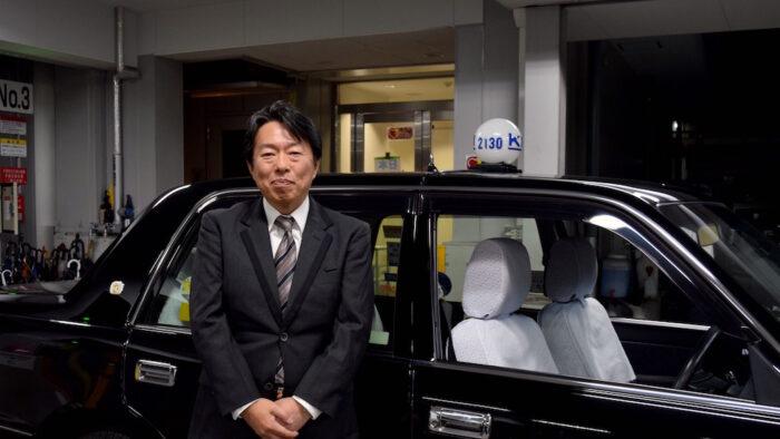 国際自動車(kmタクシー)のタクシー運転手小林さん